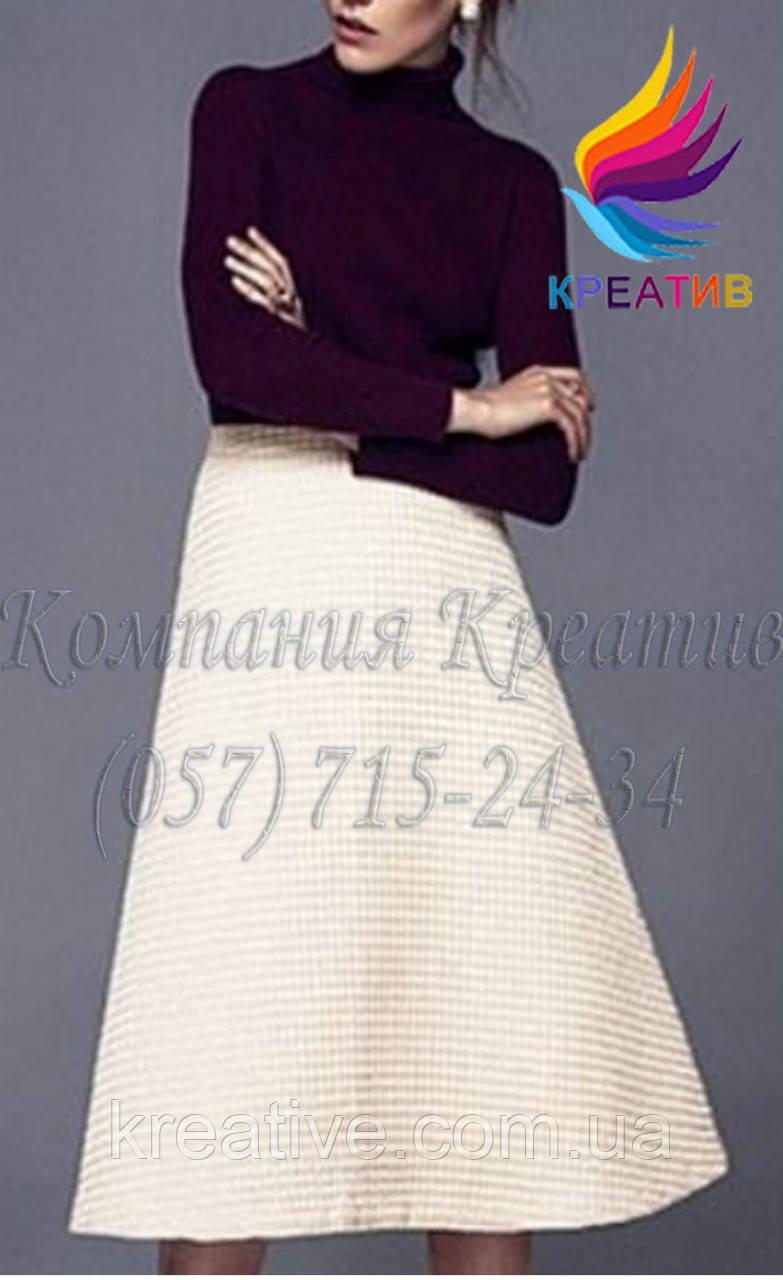 Длинная юбка колокол (под заказ от 50 шт.)