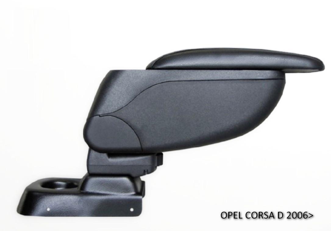 Подлокотник Armcik S2 Opel Corsa D 2006-2014 со сдвижной крышкой