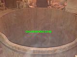 Купели круглые из термоясеня, фото 7