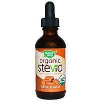 Стевия, Organic, Stevia, Toffee Flavor, Nature's Way, 59 мл.