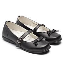 Кожаные школьные туфельки  Energy, размер 28-36