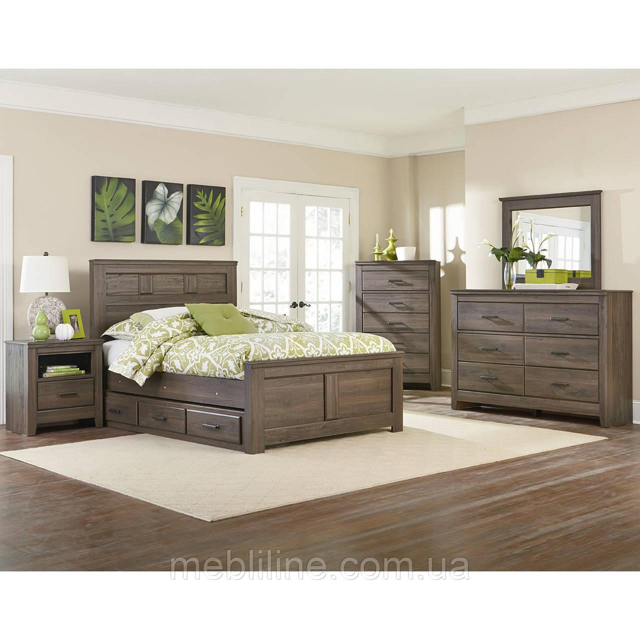 спальня из массива дерева гайвард деревянный спальный гарнитур от