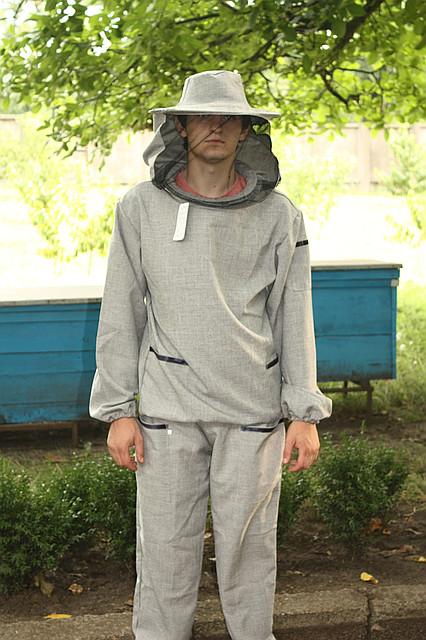 Костюм пчеловода евро (ткань лен-габардин)
