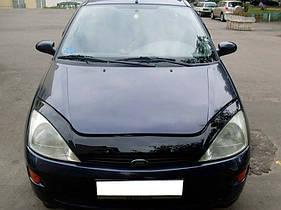 Дефлектор капота VIP TUNING Ford Focus 1998-2005 /длинный