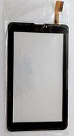 Оригинальный тачскрин / сенсор (сенсорное стекло) для Nomi C07001 | C07002 | C07003 (черный цвет, самоклейка)