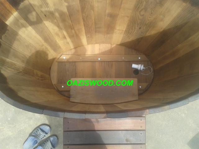 купель деревянная из термоясеня