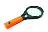 Лупа оптическая увеличительная большая с компасом 90 мм