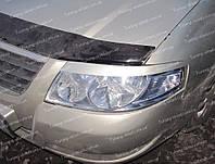 Реснички Ниссан Альмера Классик (накладки на передние фары Nissan Almera Classic)