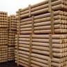 Столб деревянный кругляк D 10 см - D 16 см для заборов, купить, цена, резные, столбы деревянные