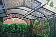 """Садовая беседка """"Анталия"""" (10 кв.м - 1 модуль) цвет черный/коричневый, фото 2"""