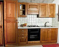 Кухня из массива дерева 011