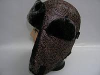 Шапка ушанка коричневая, фото 1