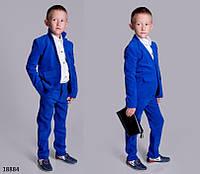 Детский вельветовый костюм