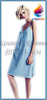 Свободное летнее платье под заказ (от 50 шт.)