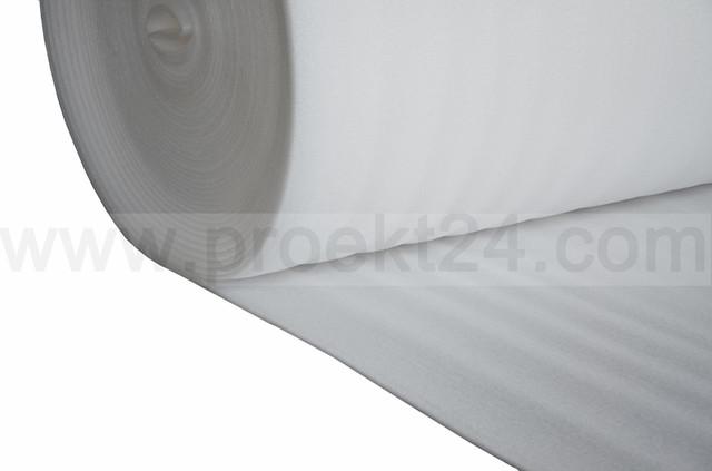 Подложка под ламинат 3мм, газовспененный полиэтилен