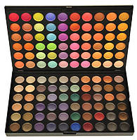 Профессиональная палитра теней МАС 120 цветов №1,2,3,4 теплые,яркие,пастельные оттенки Теплая