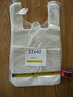 Пакет майка 22*40 см (200шт)