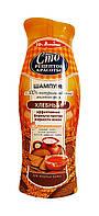 Шампунь Сто рецептов красоты Хлебный Эффективная формула против жирности волос - 380 мл.