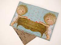 Обложки на паспорт эко-кожа Гапчинская, девочка с комодом (качество - супер)
