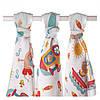 Классические пеленки ХККО набор 3шт 80х80 - для мальчика