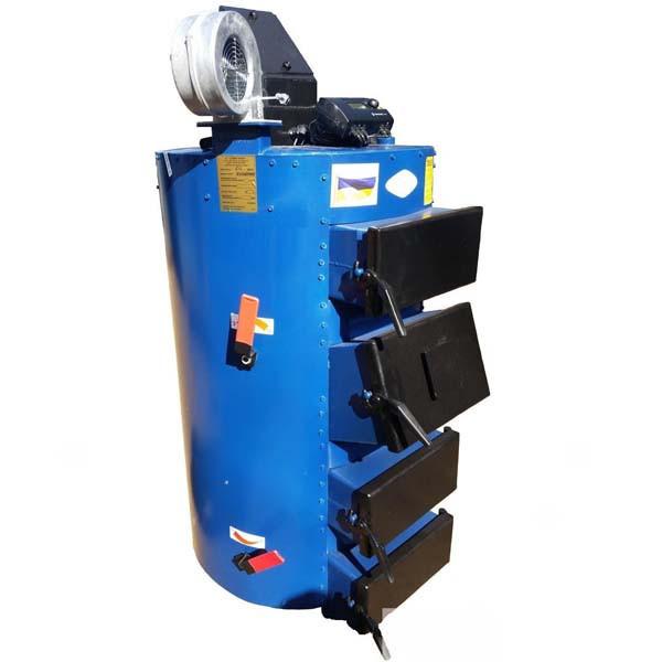 Твердотопливный котел длительного горения Идмар CIC-65 c цилиндрическим теплообменником