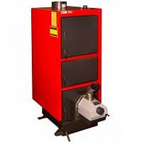 Твердотопливный котел длительного горения Альтеп КТ-2E-PG -33 с факельной горелкой OXI