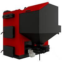 Твердотопливный котел длительного горения Альтеп КТ-3E-SH -150 с турбиной и автоматикой,  пеллетный