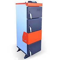 Твердотопливный котел длительного горения TIS PLUS 20 (10-20кВт)  с турбиной и автоматикой