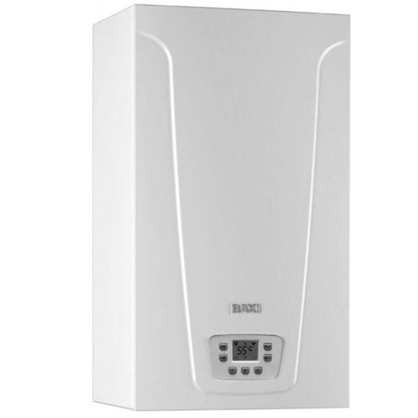 Котел газовый настенный Baxi Main 5 18 Fi турбо, битермический, режим теплый пол, самодиагностика