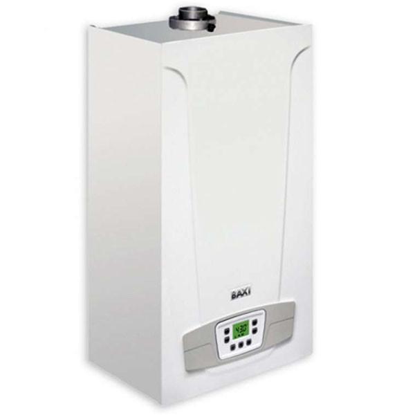 Котел газовый настенный Baxi Eco Compact 24 i дым, раздельный теплообменник, режим теплый пол, самодиагностика