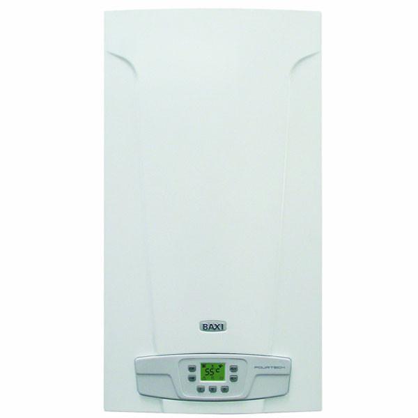 Котел газовый настенный Baxi FourTech 24 I дым ,раздельный теплообменник, режим теплый пол, самодиагностика