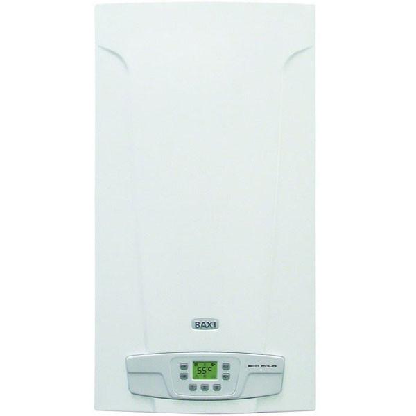 Котел газовый настенный Baxi FourTech 1.140 I дым, раздельный теплообменниик, режим теплый пол, самодиагностика
