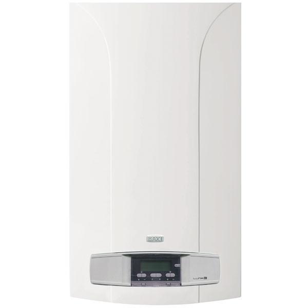 Котел газовый настенный Baxi Luna 3-280 Fi турбо, раздельный теплообменник, режим теплый пол, самодиагностика