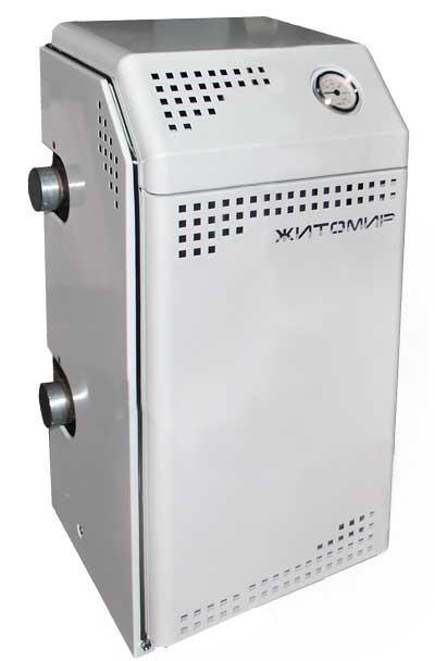 Котел газовый напольный Житомир 12 уве (2 контура) Парапетный, автоматический SIT-Италия
