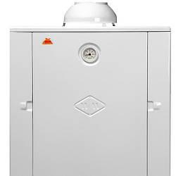 Котел газовый напольный Гелиос АОГВ 10 ( левый-правый ) Дымоходный, автоматический