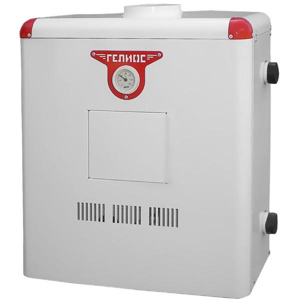 Котел газовый напольный Гелиос АОГВ 10 ( универсальный ) Дымоходный, автоматический