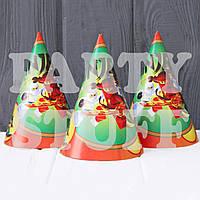 Колпаки детские карнавальные Ниндзяго, 16 см