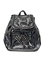 Модный женский рюкзак IN-8453 (черный)