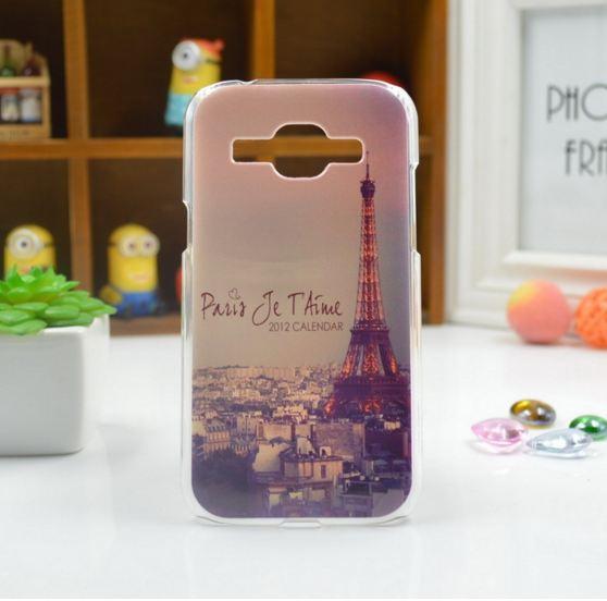 Силиконовый чехол для Samsung Galaxy J120 J1 2016 с картинкой Париж