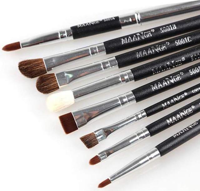 Набор из 8 кистей для макияжа Maange
