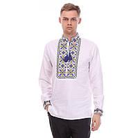 Мужская сорочка на домотканом полотне-символ Лили