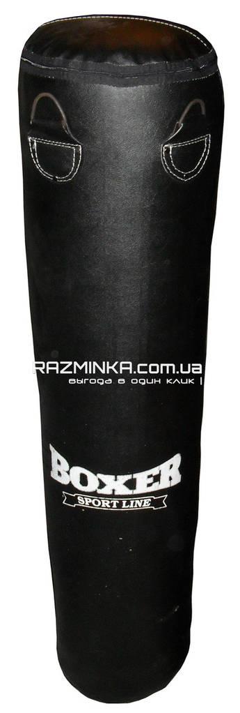 Мешок боксерский кожаный (120х33 см, вес 30 кг)