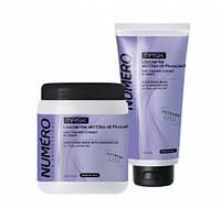 Маска для разглаживания волос с маслом авокадо Brelil NUMERO LISCIANTE 1000 мл
