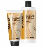 Шампунь для восстановления структуры волос с экстрактом овса Brelil NUMERO Ristrutturante 1000 мл