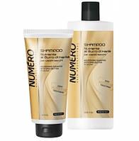 Шампунь питательный для волос с маслом карите Brelil NUMERO NUTRIENTE 1000 мл