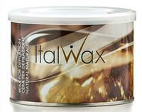 Теплый Воск для депиляции в банке Натуральный ItalWax 400гр