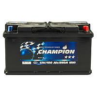 Аккумулятор Champion Black 100Ah/ пусковой ток 850A / гарантия 2 года