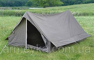 Двухместная армейская палатка, олива. НОВАЯ. ВС Франции, оригинал.