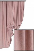 Ткань для штор Пальмира  розовая , Турция