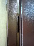 Двери входные МЕТАЛЛИЧЕСКИЕ для дачи в кладовк,  двери входные двойные 1,20 на 2,05, фото 7